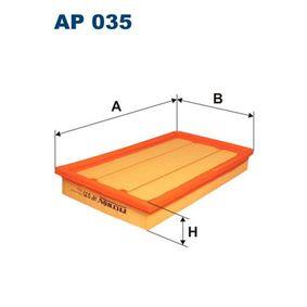 въздушен филтър FILTRON AP035 купете и заменете