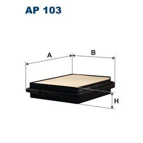 въздушен филтър AP103 с добро FILTRON съотношение цена-качество