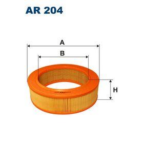 въздушен филтър AR204 с добро FILTRON съотношение цена-качество