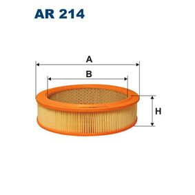 FILTRON Filtro aria AR214 acquista online 24/7
