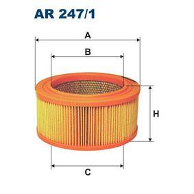 Luftfilter AR247/1 för VOLVO DUETT till rabatterat pris — köp nu!