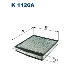 Filter, kupéventilation K1126A till rabatterat pris — köp nu!