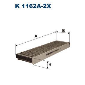 филтър, въздух за вътрешно пространство FILTRON K1162A-2x купете и заменете