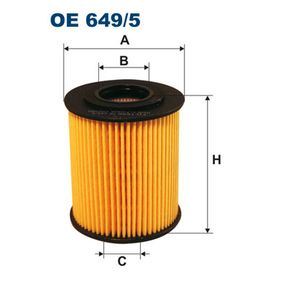 buy and replace Oil Filter FILTRON OE649/5