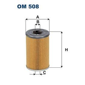 Filtro de óleo OM508 FILTRON Pagamento seguro — apenas peças novas