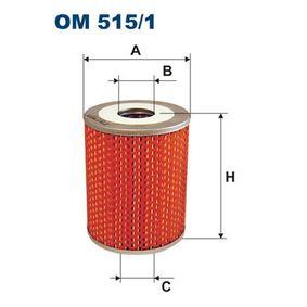 Osta ja vaihda Öljynsuodatin FILTRON OM515/1