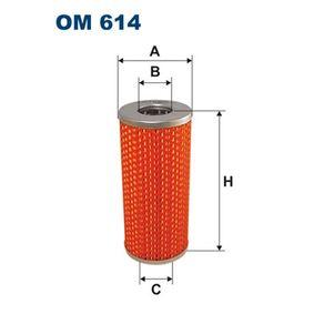Filtre à huile OM614 FILTRON Paiement sécurisé — seulement des pièces neuves