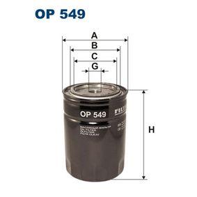Achetez et remplacez Filtre à huile OP549