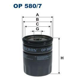 Compre e substitua Filtro de óleo FILTRON OP580/7