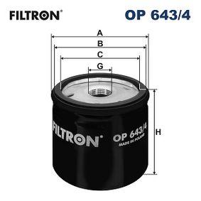 Koop en vervang Oliefilter FILTRON OP643/4