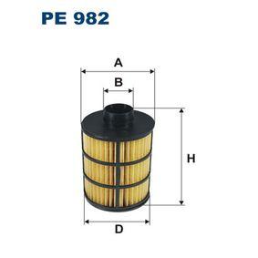 Bränslefilter PE982 för CHEVROLET CAPTIVA till rabatterat pris — köp nu!