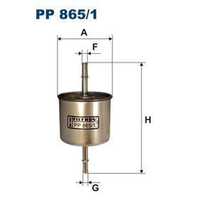 palivovy filtr PP865/1 FILTRON Zabezpečená platba – jenom nové autodíly