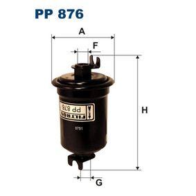 Degvielas filtrs PP876 par MITSUBISHI zemas cenas - Iepirkties tagad!