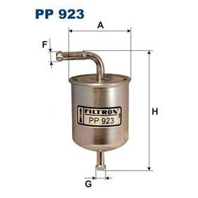 Filtro de combustível PP923 para NISSAN SUNNY com um desconto - compre agora!