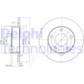 Disque de frein BG3381 DELPHI Paiement sécurisé — seulement des pièces neuves