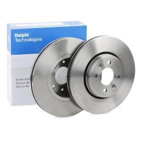 Bremsscheibe von DELPHI - Artikelnummer: BG3430