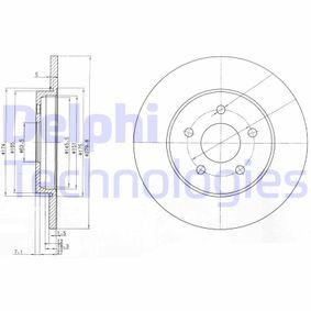 Köp och ersätt Bromsskiva DELPHI BG3663
