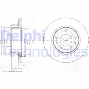 Achetez et remplacez Disque de frein BG3752