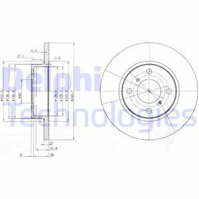 Disco freno BG3769 con un ottimo rapporto DELPHI qualità/prezzo