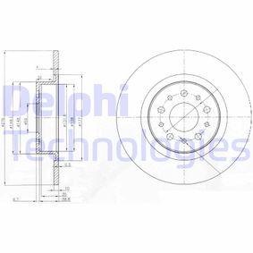 Disco freno DELPHI BG3857 comprare e sostituisci