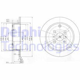 Disco de travão BG3867 DELPHI Pagamento seguro — apenas peças novas