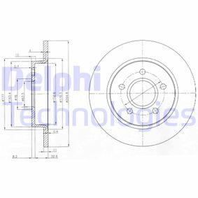 Disco freno BG3896 con un ottimo rapporto DELPHI qualità/prezzo