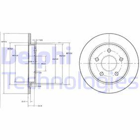 Disque de frein BG2332 DELPHI Paiement sécurisé — seulement des pièces neuves