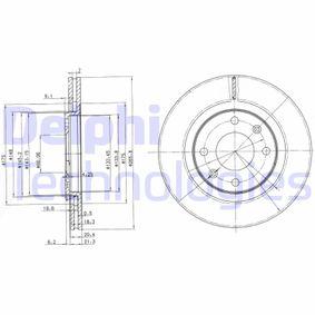 Disco freno DELPHI BG2387 comprare e sostituisci