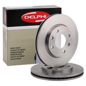 Bremsscheibe von DELPHI - Artikelnummer: BG2444