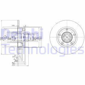 Disque de frein BG2714 DELPHI Paiement sécurisé — seulement des pièces neuves