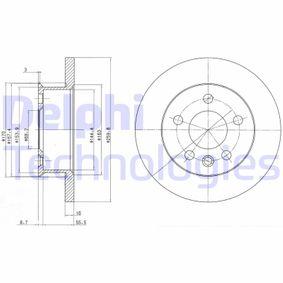 Disco de travão BG2716 com uma excecional DELPHI relação preço-desempenho