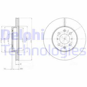 Disque de frein BG2759 DELPHI Paiement sécurisé — seulement des pièces neuves