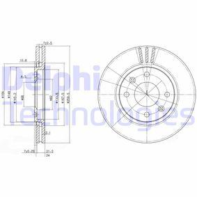 Brake Disc BG2871 406 Estate 2.1 TD 12V 109 HP original parts-Offers