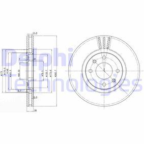 Brake Disc BG2872 406 Estate 2.1 TD 12V 109 HP original parts-Offers