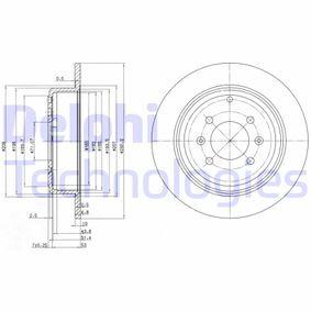 Brake Disc BG2873 406 Estate 2.1 TD 12V 109 HP original parts-Offers