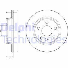 stabdžių diskas BG3026 su puikiu DELPHI kainos/kokybės santykiu