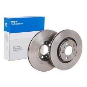 Bremsscheibe von DELPHI - Artikelnummer: BG3036