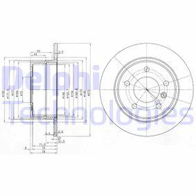 Disco freno BG3040 con un ottimo rapporto DELPHI qualità/prezzo