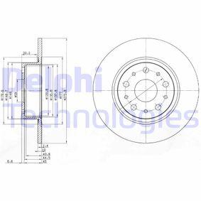 Disco freno BG3076 con un ottimo rapporto DELPHI qualità/prezzo