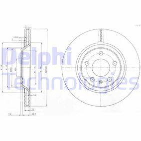 спирачен диск BG3997 за AUDI A6 на ниска цена — купете сега!