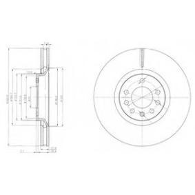 спирачен диск BG4110 за OPEL ниски цени - Купи сега!
