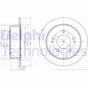 Compre e substitua Disco de travão DELPHI BG4220
