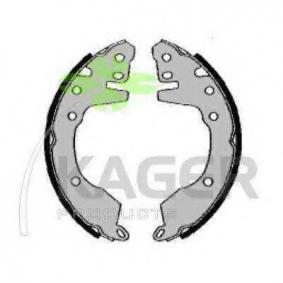 KAGER Kit ganasce freno 34-0219 acquista online 24/7