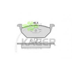 kjøpe KAGER Bremsebelegg sett, skivebremse 35-0048 når som helst