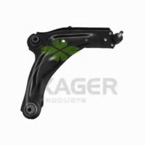 Braço oscilante, suspensão da roda 87-0836 com uma excecional KAGER relação preço-desempenho