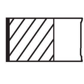 MAHLE ORIGINAL Kit fasce elastiche 011 08 N1 acquista online 24/7