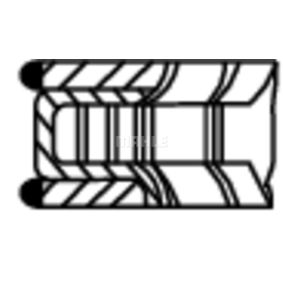 MAHLE ORIGINAL Kit fasce elastiche 022 04 N0 acquista online 24/7