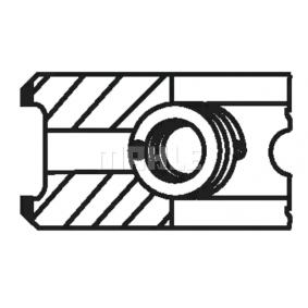 MAHLE ORIGINAL Kit fasce elastiche 033 15 V0 acquista online 24/7