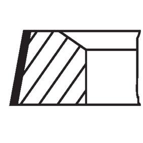 MAHLE ORIGINAL Kit fasce elastiche 504 01 N0 acquista online 24/7