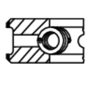 MAHLE ORIGINAL Set segmenti piston 568 05 N1 cumpărați online 24/24